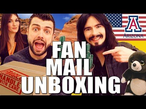 Irish People UnBoxing - 'AMERICAN CARE PACKAGE' - Arizona!!