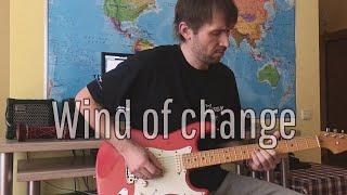 Scorpions - Wind of Change - Guitar Cover - Gitaros Melodijos - Gitaristas Lukas Zinkevicius
