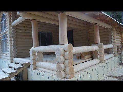 Как шлифовать деревянный дом
