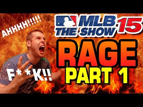 MLB 15' the Show Game Rage Part 1