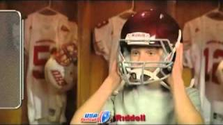 Put Pride Aside for Player Safety: Fitting 3 of 3 -- How to Remove the Helmet