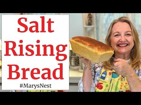 Salt Rising Bread Recipe - Step by Step Tutorial