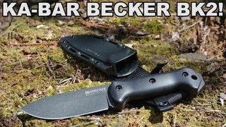 Ka-bar Becker Bk2! Heavy Duty Knife At A Lightweight Price