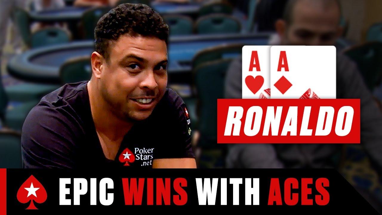 Ronaldo Stuns Everyone With AMAZING Poker Run ♠️ PokerStars Special