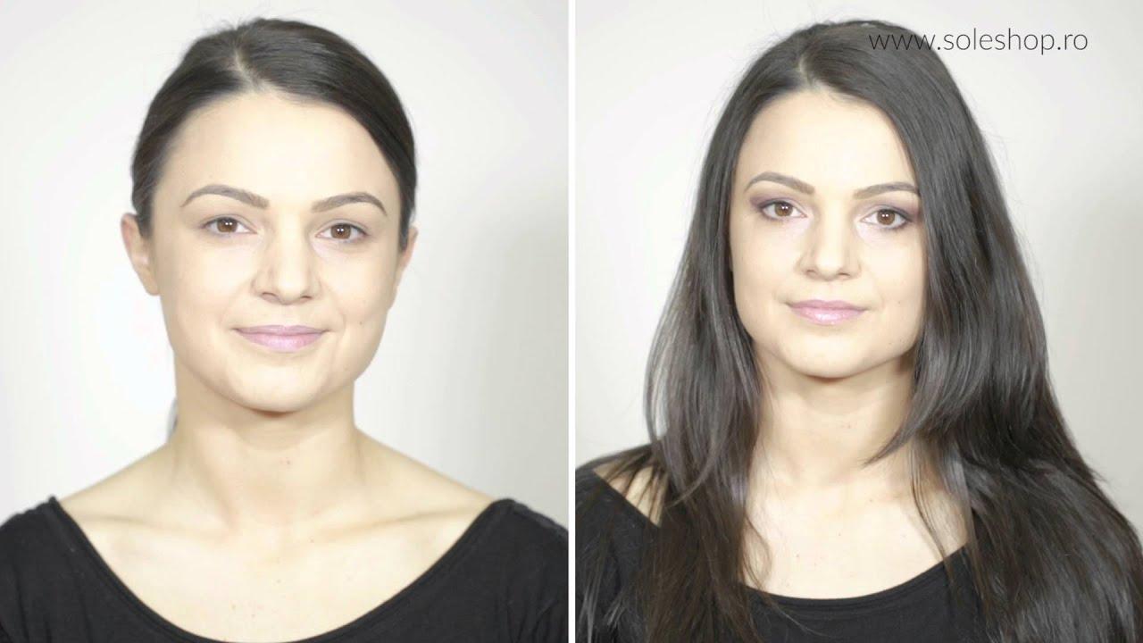 Make Up De Zi Pentru Brunete Vs Blonde Youtube