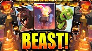 THIS INSANE NEW BAIT DECK DESTROYS LADDER!! UNREAL! Clash Royale Hog Bait Deck