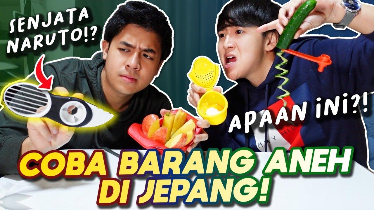 REVIEW BARANG2 UNIK JEPANG! BENERAN BERGUNA GAK SIH!?