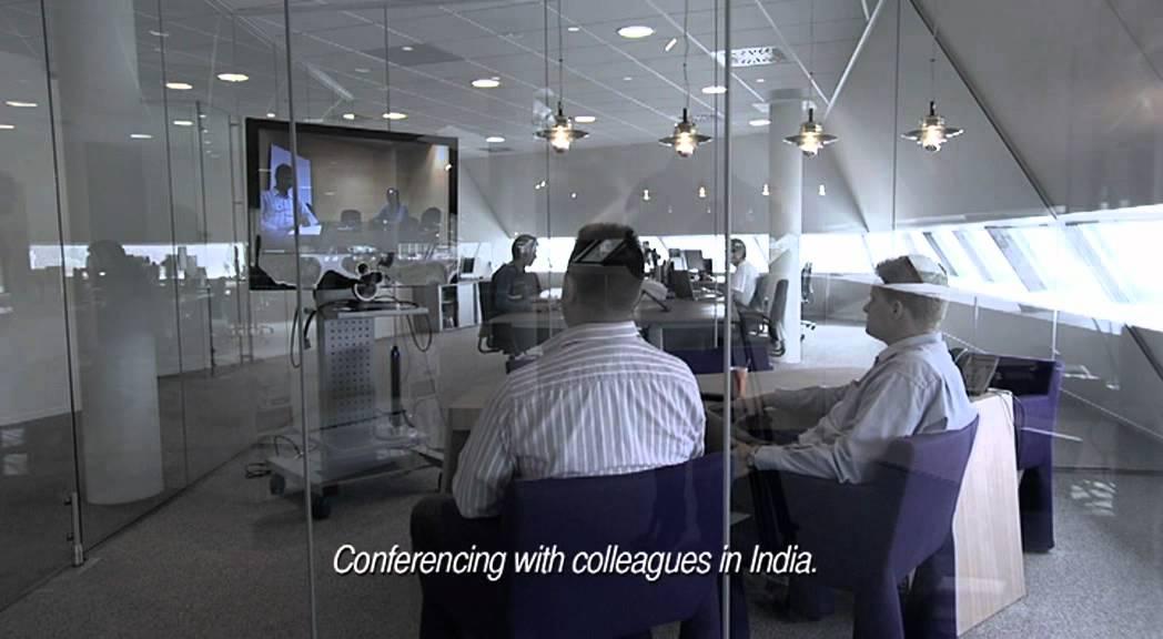 Decos futuristisch papierloos kantoor youtube