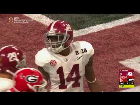 2018 CFP National Championship Game - #4 Alabama vs. #3 Georgia Highlights