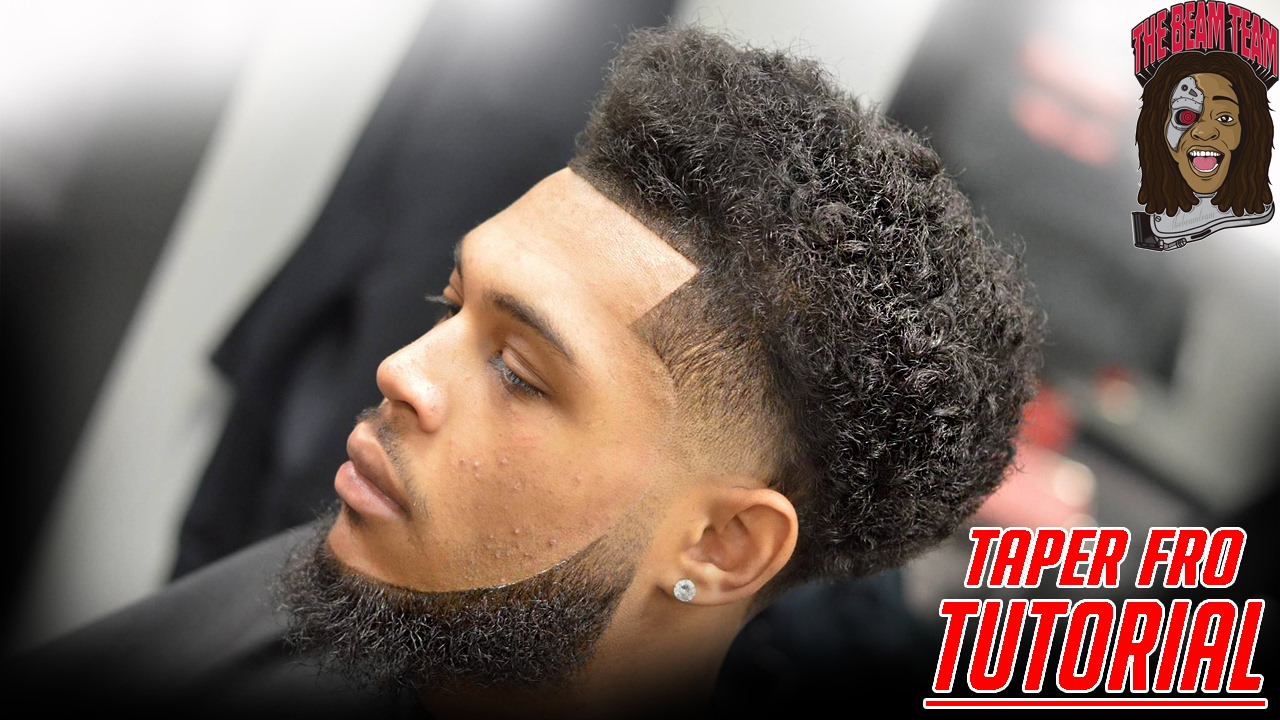 BARBER SHOP VID BEST CURLY FADE HAIRSTYLE TRANSFORMATION STYLERSQUAD