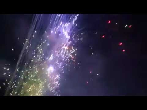 Feux d'artifice de Marboz 2018