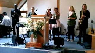teni with german gospel choir aachen
