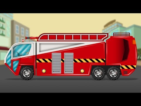 Kids TV Channel | Fire Truck | Vehicle Assembly | Cartoon Trucks For Children | Toy Truck Videos