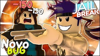 HOW to KILL EVERYONE with 1 SHOT at JAILBREAK 😱-New ROBLOX BUG