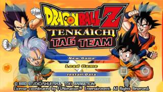 DragonBall Z Tenkaichi Tagteam Gameplay PSP Android