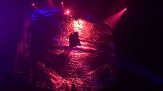 Performing Vela in Fuerza Bruta Wayra!