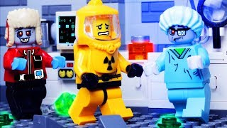 LEGO ZOMBIE ATTACK FAIL in LEGO City Stop Motion