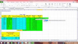 Bài 24: Lập bảng nhập xuất hàng hóa theo mã nghiệp vụ - Excelketoan.vn