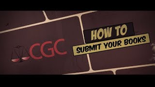CGC - How t๐ Submit Your Books