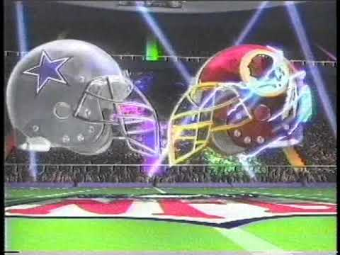 1997 Monday Night Football DAL@WAS intro