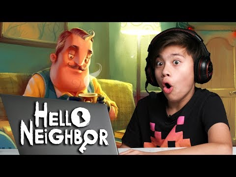 HELLO NEIGHBOR: ACT 1 - Something Scary in the Basement! Pla