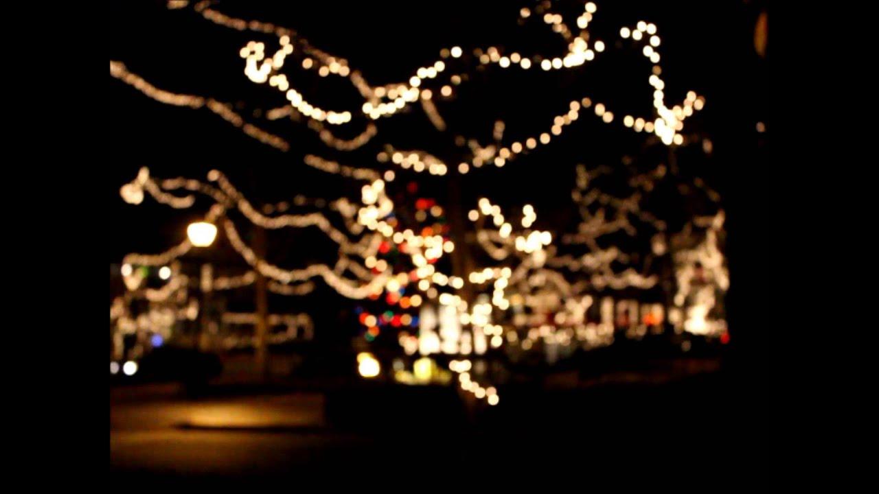 Christmas Town In Georgia Dahlonega.Christmas Lights On The Dahlonega Square Youtube