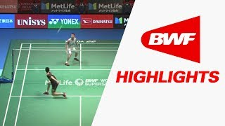 Daihatsu Yonex Japan Open 2017 | Badminton SF – Highlights