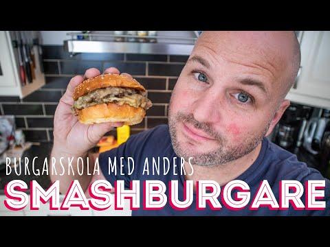 BURGARSKOLA med Anders - SMASHBURGARE