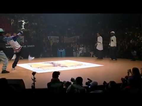 Les Близнецов   Hip hop dance battle на Juste Debout