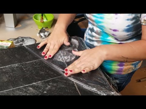 How to Decoupage on Furniture with Napkins ~ Furniture Makeovers