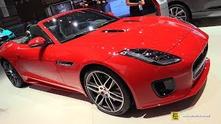 2019 Jaguar F-Type Cabio Dynamic P300 - Exterior and Interior Walkaround  2018 Paris Motor Show
