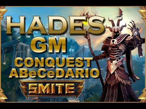 SMITE! Hades, Esto tambien es un solo :D! GM Conquest Abecedario #30
