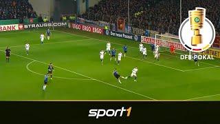 S04 zittert trotz 3:0-Führung! Bielefeld - Schalke 2:3 | Highlights | DFB-Pokal 2019 | SPORT1