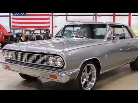 1964 Chevy Chevelle Malibu Silver