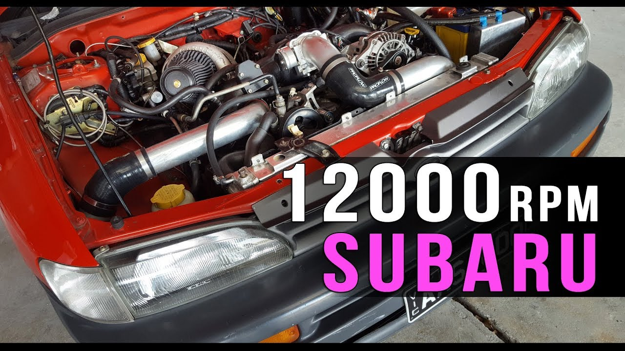 Here's Betty, an Old Subaru That Revs to 12,000 RPM - The Drive