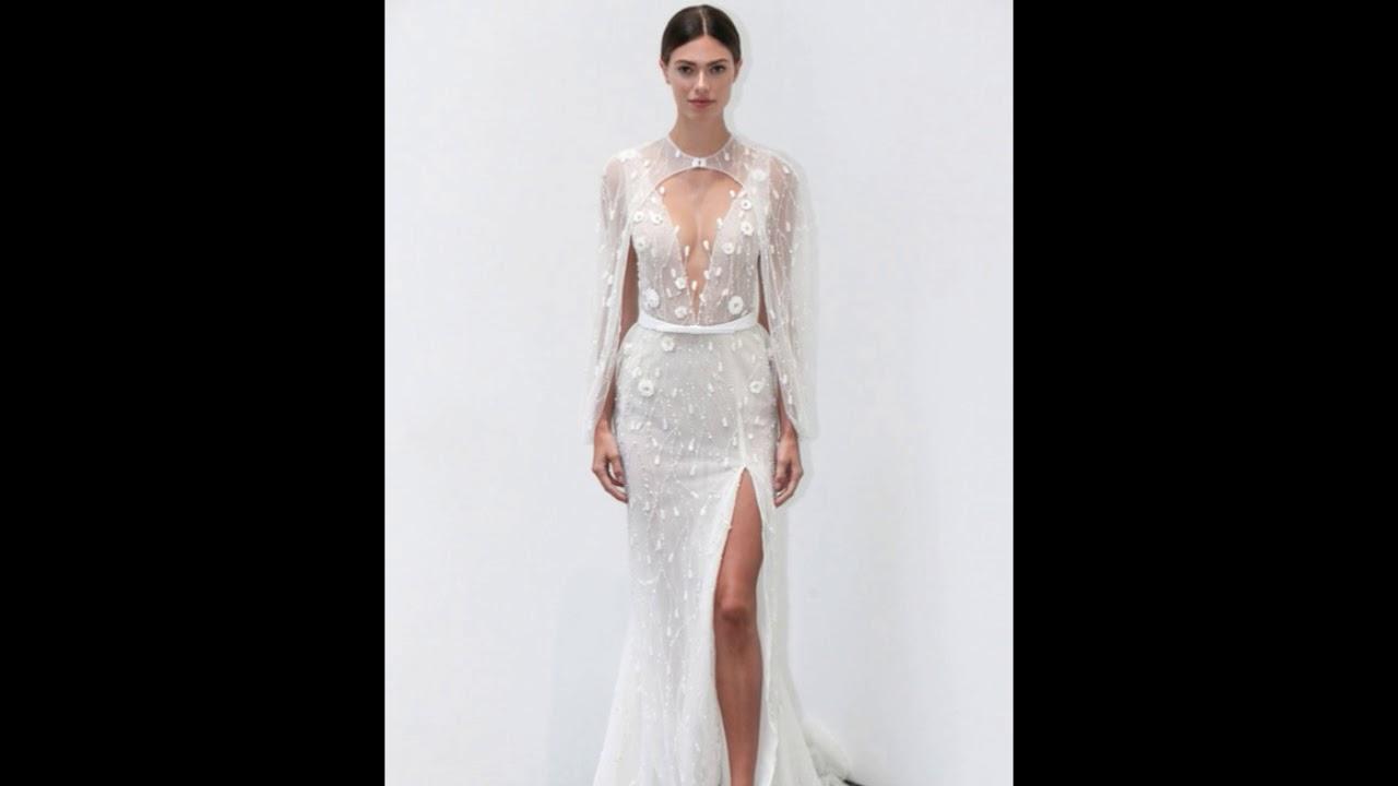 6d90432c71ae Wedding Dress Collection by Lee Petra Grebenau Fall 2019 - YouTube