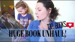 HUGE BOOK UNHAUL! |130+ books