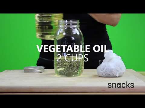 Snacks How to Make Infused Canna Oil Vegetable