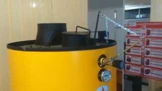 видео Буран 25 ГВС  New котел твердотопливный длительного горения