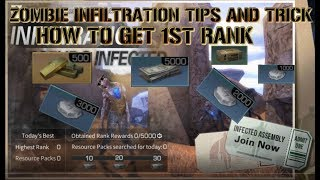 LifeAfter Zombie Infiltration, EASY TIPS AND TRICK to get 1st rank, get those dollars!