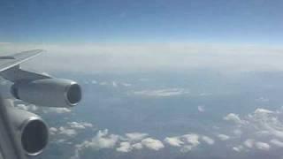 Ural Airlines Ilyushin IL-86 in flight - Cabin & Window view