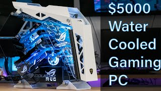 $5000 Water Cooled Gaming PC Build | Project Xenomorph | Cougar Conquer Time Lapse