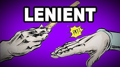 👌 Learn English Words: LENIENT - Meaning, Vocabulary with Pictures and Examples