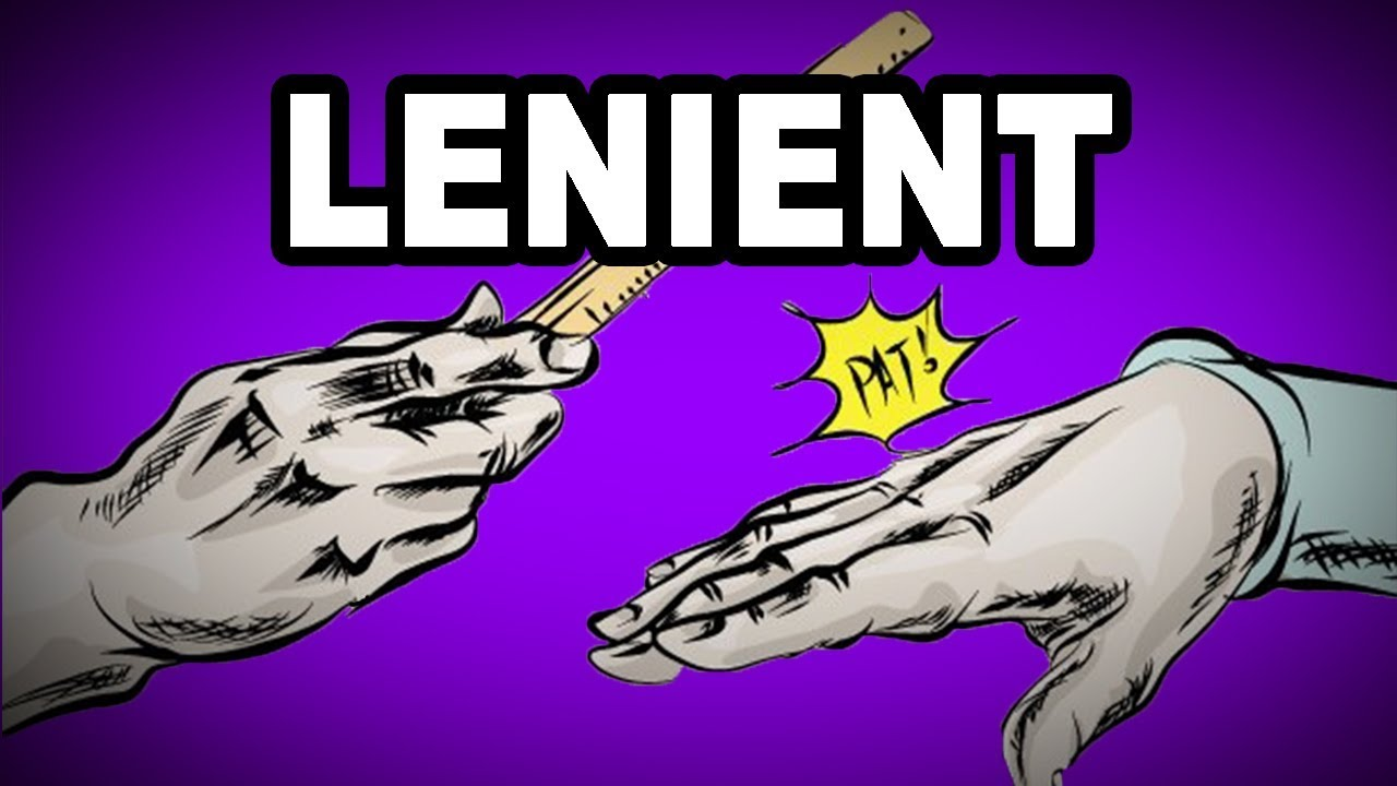 Learn English Words Lenient Meaning Vocabulary With