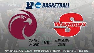Men's Basketball vs. Stanislaus State: November 12, 2019 @ 3:30pm