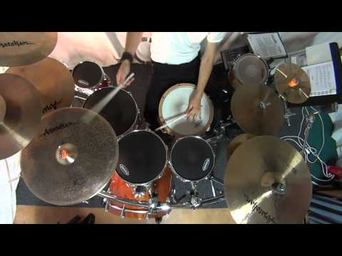 Sony Music Recorder HDR-MV1 - Test with Drums