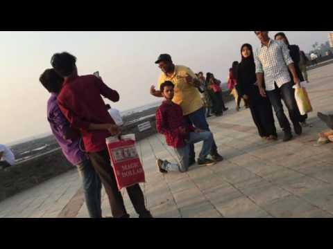 Prank on strangers || funny prank in india || statue prank