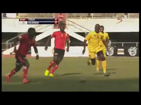 AUCHO KHALID SHIRT 8 TOGO VS UGANDA  LOME