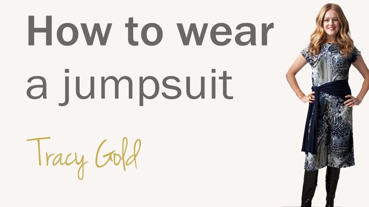 521a3caf073 How to wear a jumpsuit for women over 40 - fashion for women over 40 -  YouTube