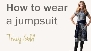 How to wear a jumpsuit for women over 40 - fashion for women over 40